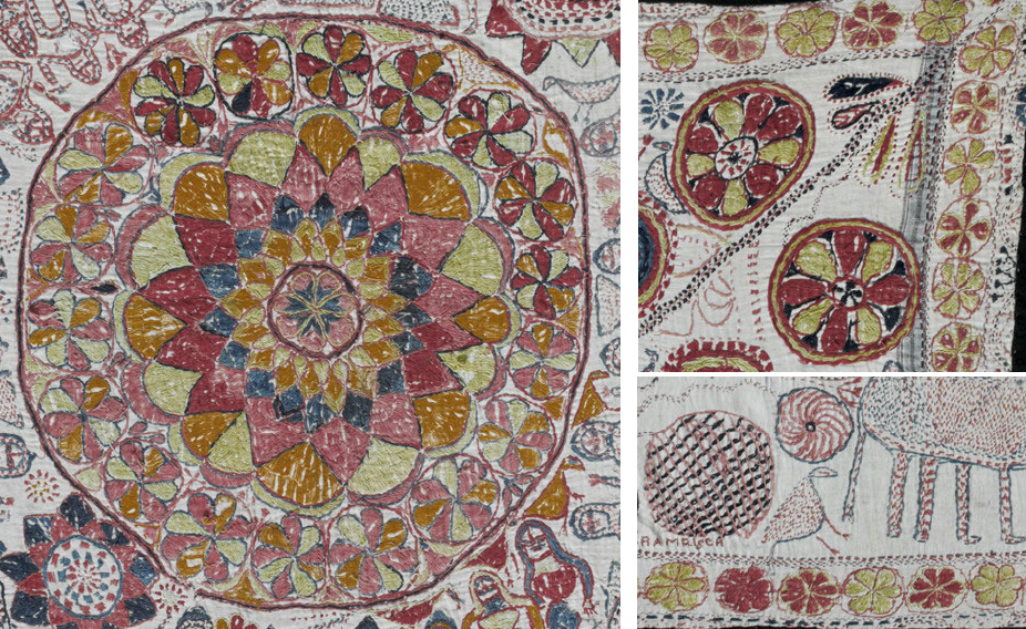 I mentioned this in a previous blog about troubadors (some of which may  have been Roma). There is a hint of this style in a few of the VMS flowers 53714ab04f64