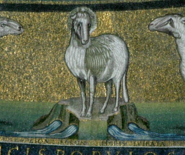 Lamb of God Santi Cosma e Damiano